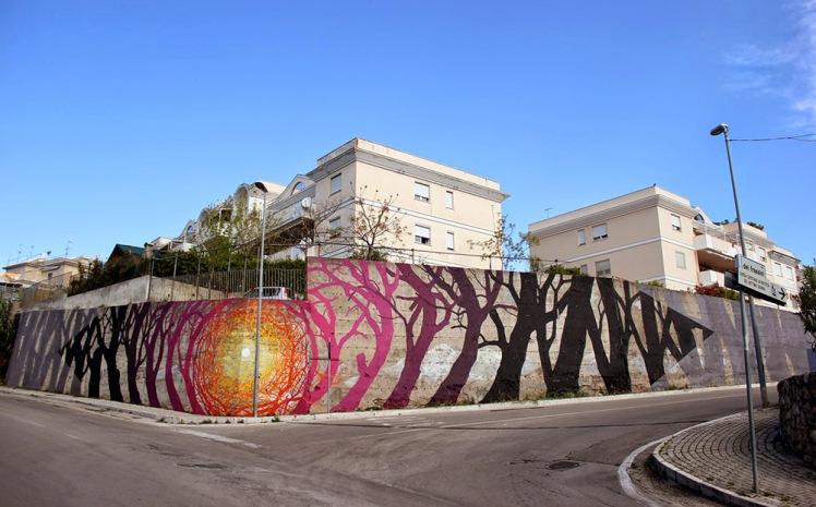 Pablo S Herrero Tree Paintings