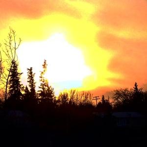 Evening Fire