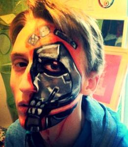 Terminator Make Up_La super lili