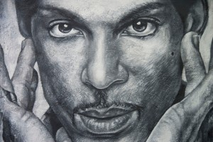 Prince painted portrait_thierry ehrmann