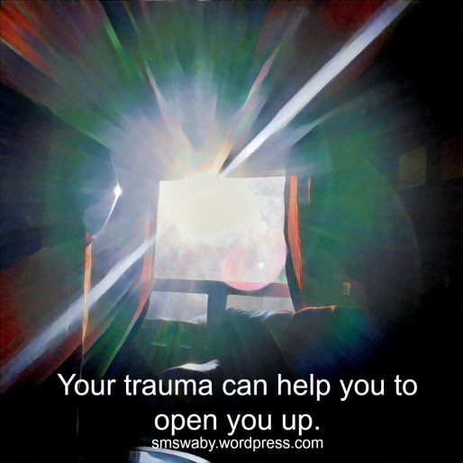 trauma-can-open-you-up-poster