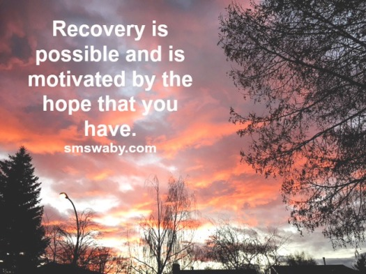 recovery-is-possible-and-is-motivated-by-the-hope-that-you-have_poster