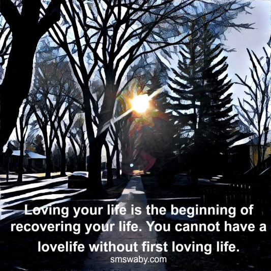 loving-your-life-is-the-beginning-of-recovering-your-life_poster