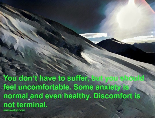 in-recovery-discomfort-is-never-terminal_poster